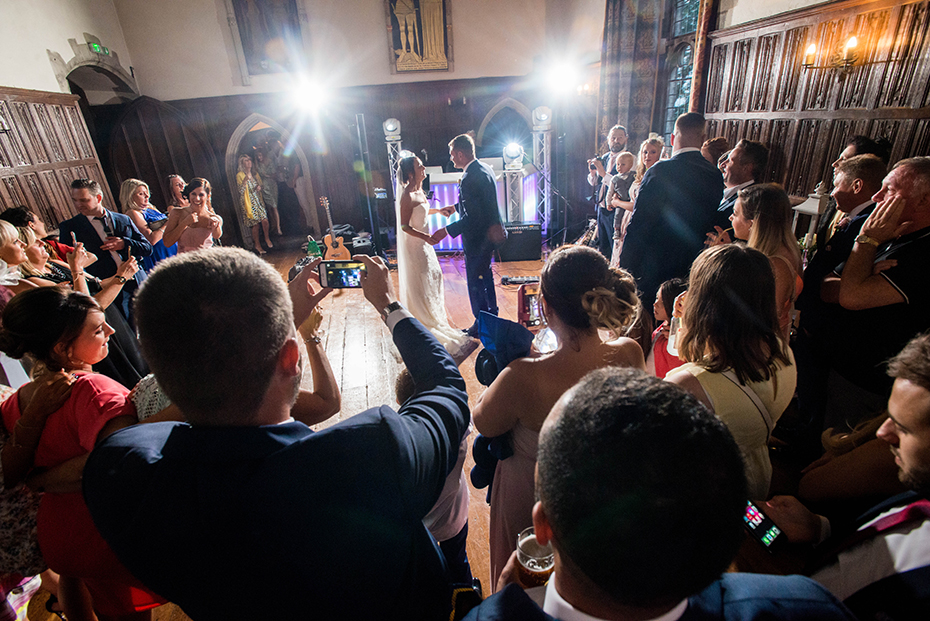 beautiful wedding photography at Lympne castle