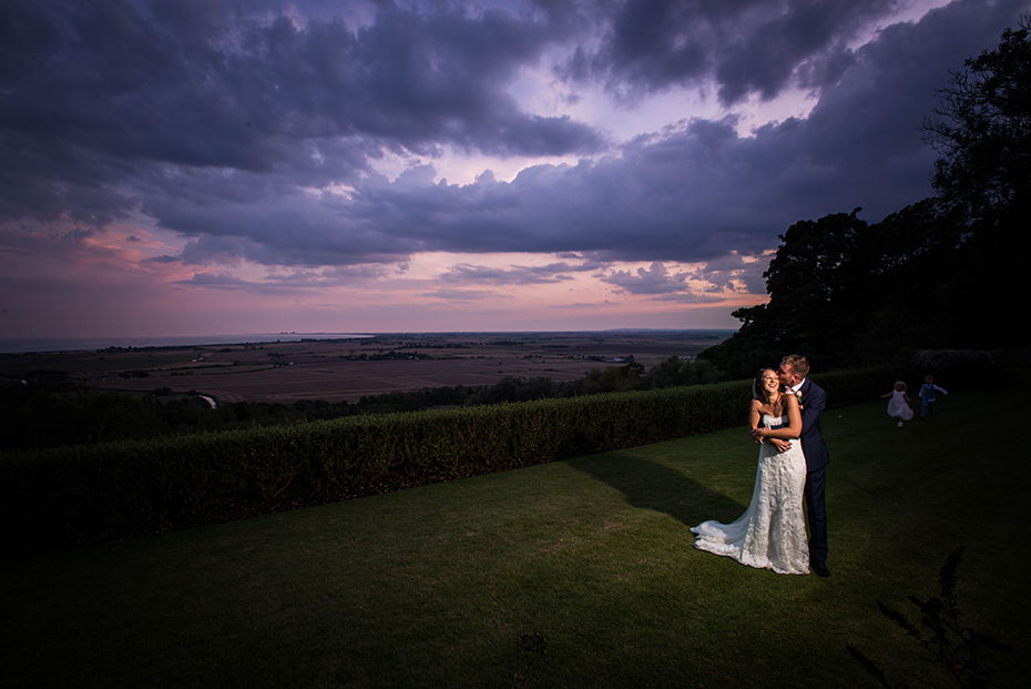 wedding photography speeches at Lympne castle