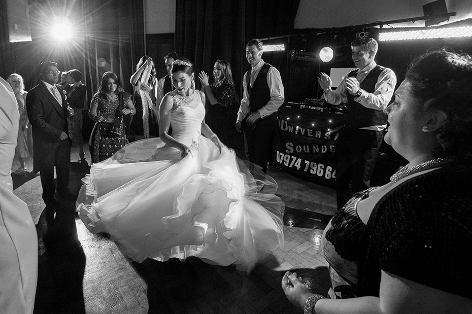 Award winning wedding photography at St Augustines Kent