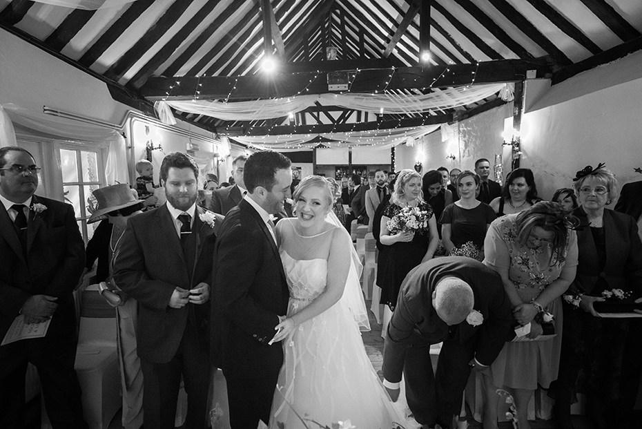 wedding Photographer the Bull Hotel Wrotham