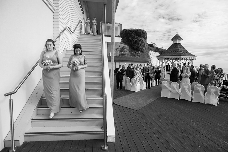 The Pegwell Bay hotel wedding photographers