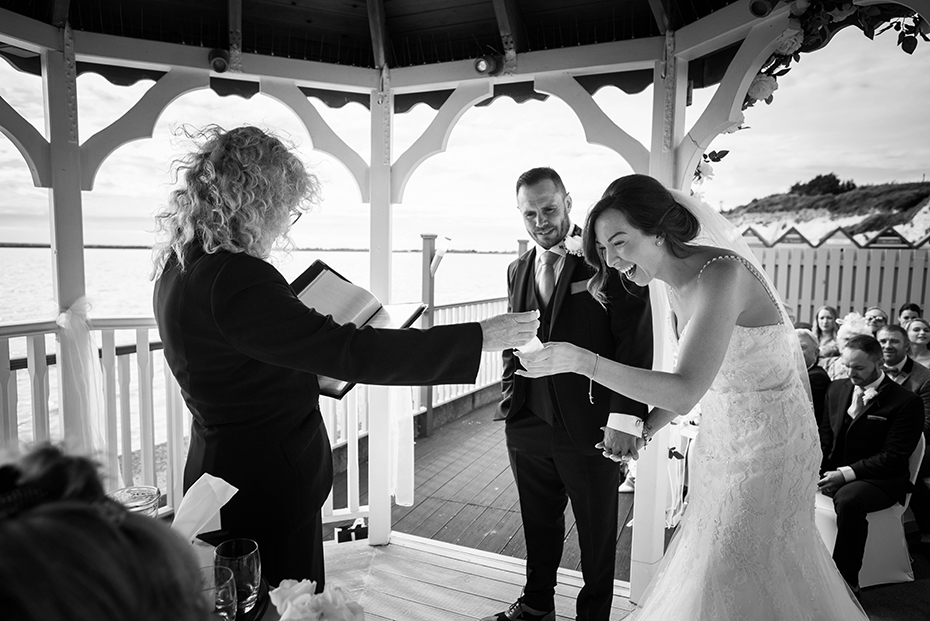 Wedding photography  The Pegwell Bay hotel