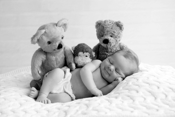 Sleepy gorgeous Newborn Baby Boy Photography
