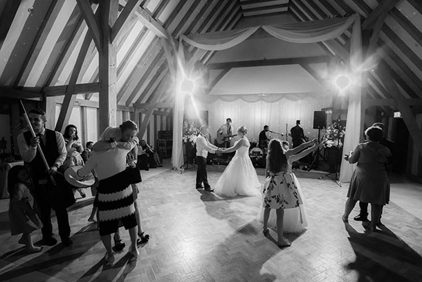 Wedding Photographers the old kent barn