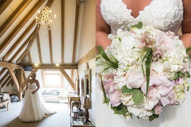 Wedding Photographer the Old Kent Barn