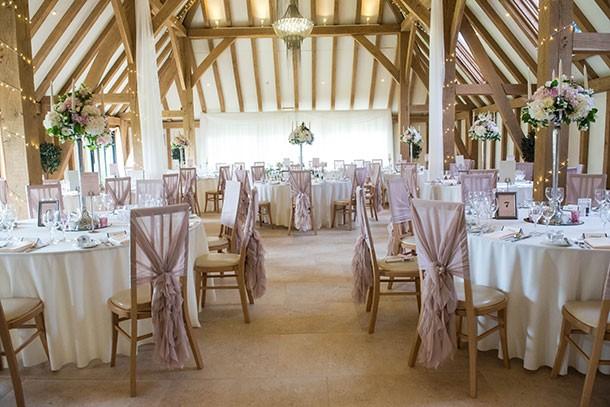 Wedding at the Old Kent Barn