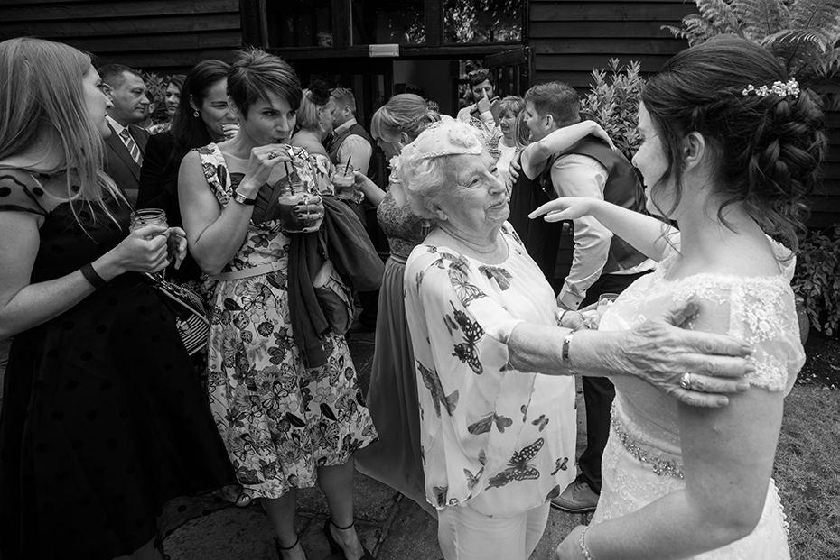 Wedding photographers Winters barn