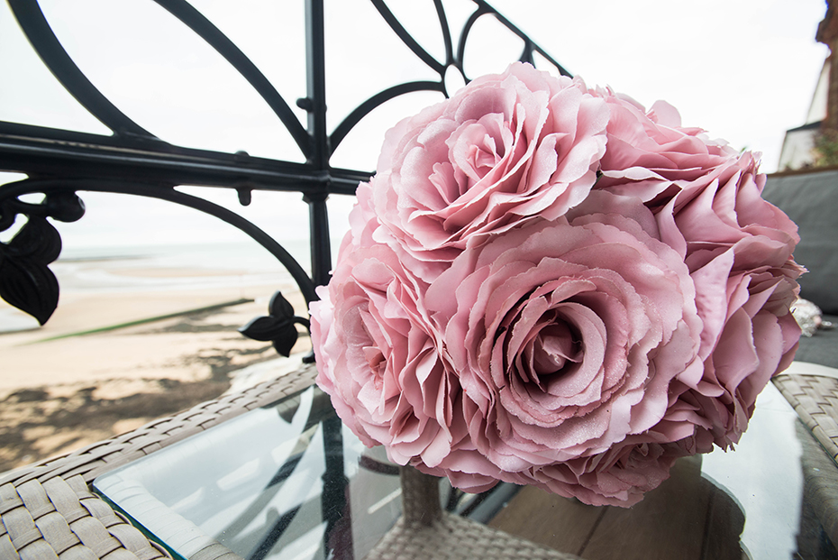 Winter gardens Margate wedding photographer