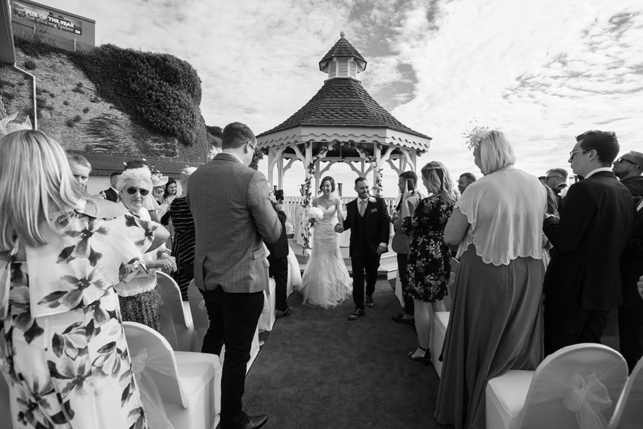 Wedding photographer  The Pegwell Bay hotel