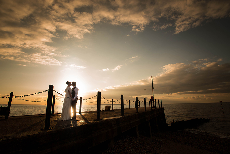 Wedding photographer East Quay