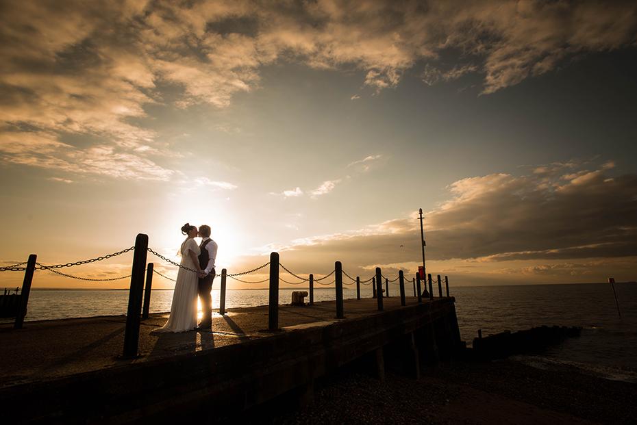 Wedding photographer East Quay